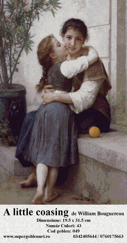 049 - A little coasing  de William Bouguereau