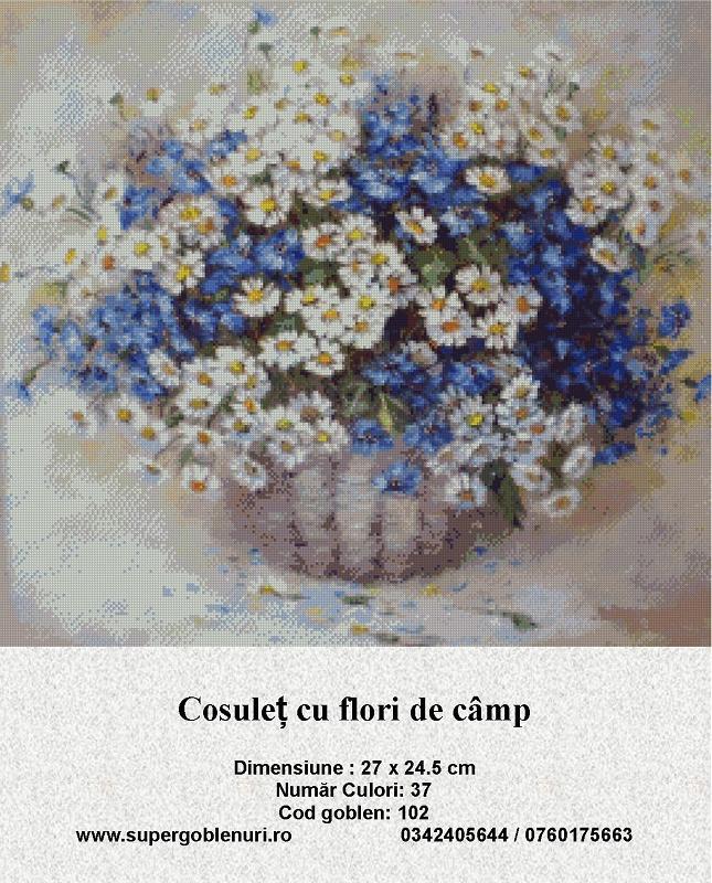 102 - cosulet cu flori de camp