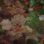 Goblen cusut cu 140 de culori