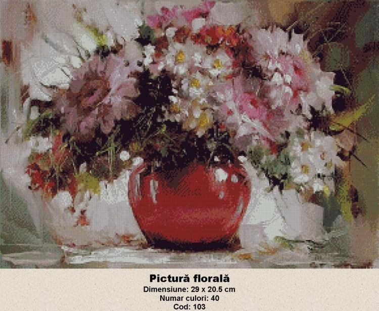 Goblen - Pictura Florala