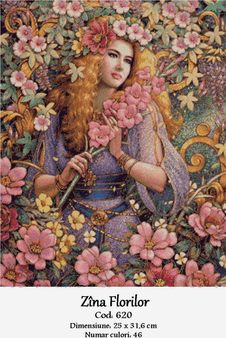 Goblen - Zina Florilor